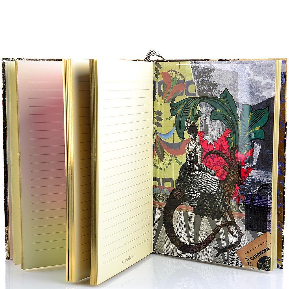 Блокнот Christian Lacroix Papier Astrologie формата B5 в жестком переплете с лентой-закладкой