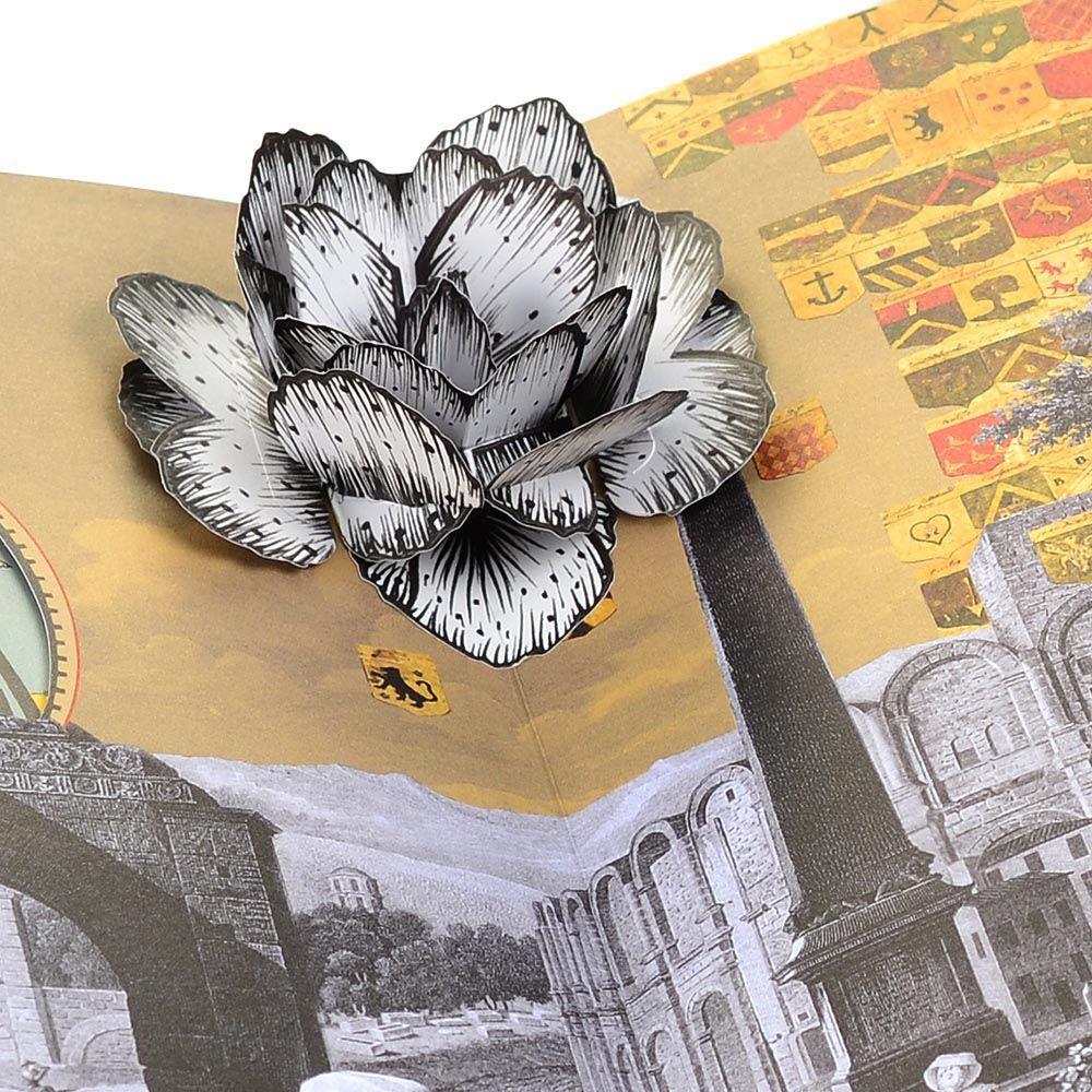 Блокнот Christian Lacroix Papier Voyage формата B5 с лентой-закладкой
