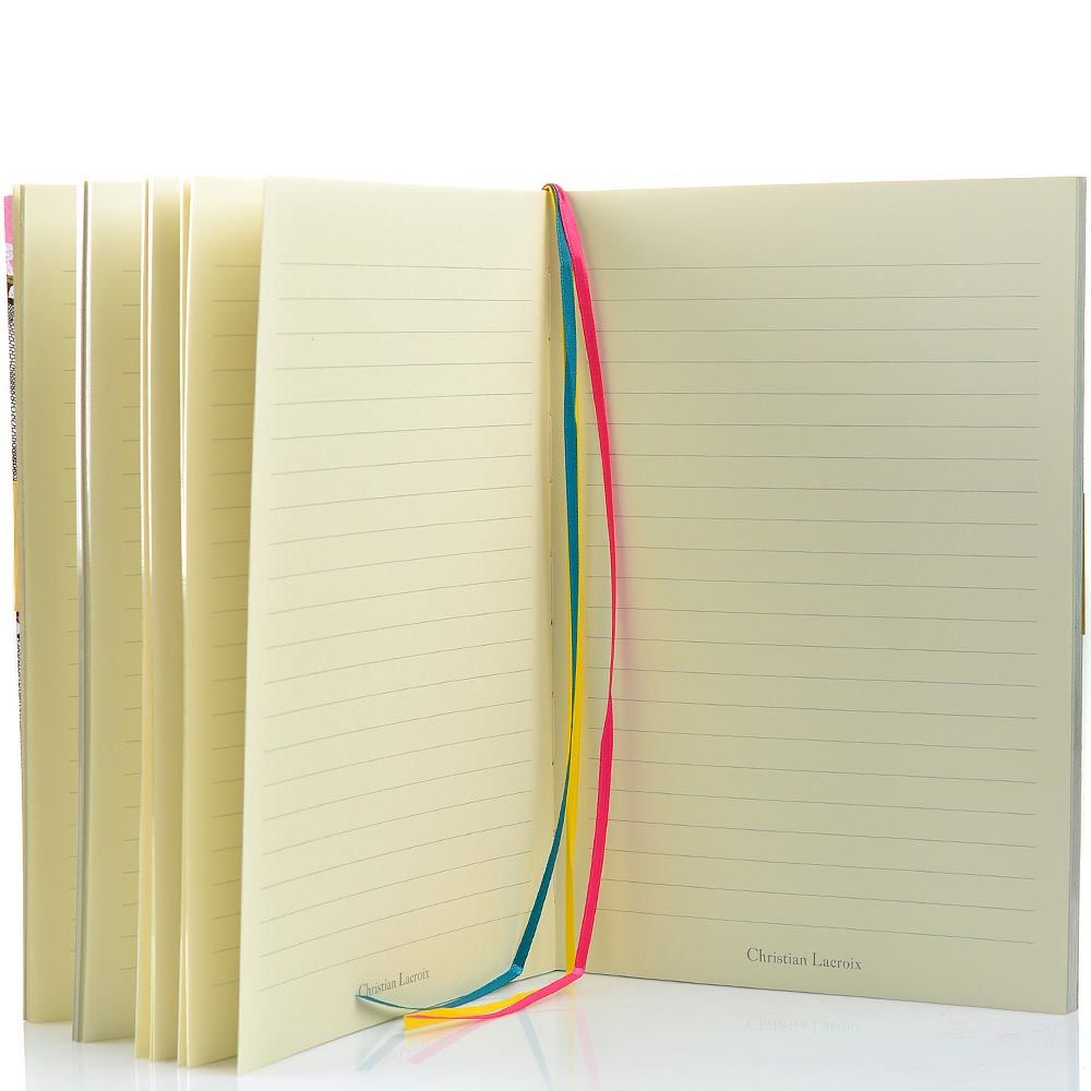 Блокнот Christian Lacroix Papier PsIkat формата А5 с лентой-закладкой