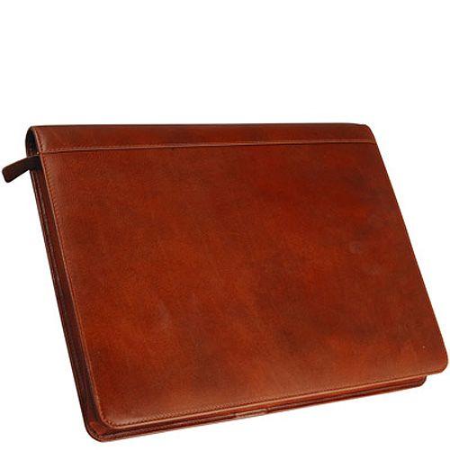 Папка-органайзер руководителя William Lloyd рыже-коричневая на молнии