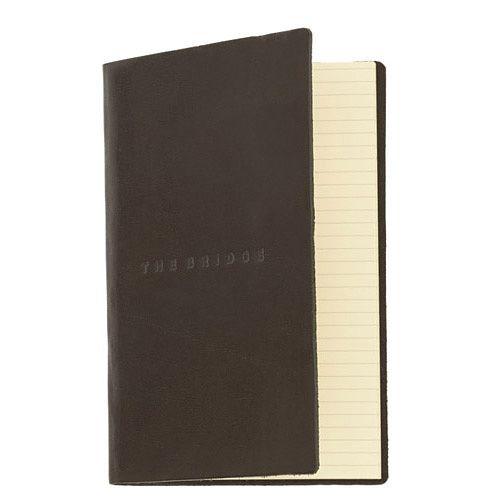 Записная книжка The Bridge Story Uomo кожаная черная, фото