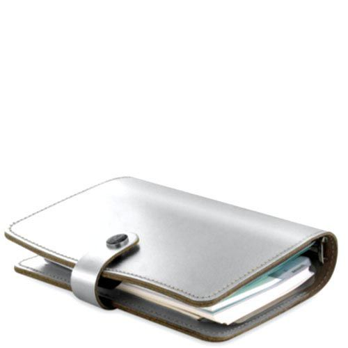Эксклюзивный органайзер Filofax Limited Edition Personal The Original серебристого цвета, фото