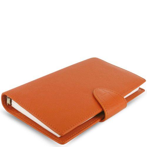 Органайзер Filofax Compact Calipso кожаный оранжевый, фото