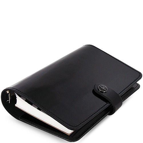 Органайзер Filofax Personal The Original кожаный лаковый черный, фото
