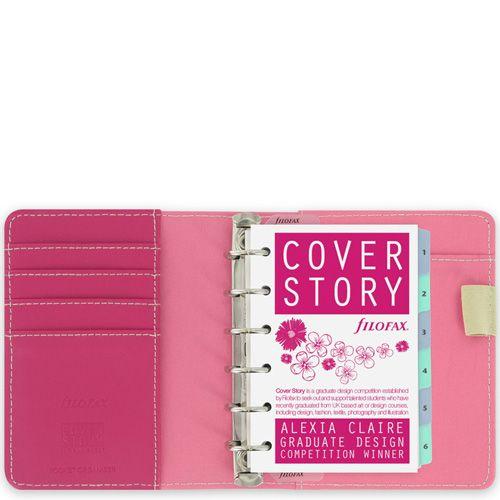 Персональный органайзер Filofax Pocket Cover Story с яркими цветами, фото