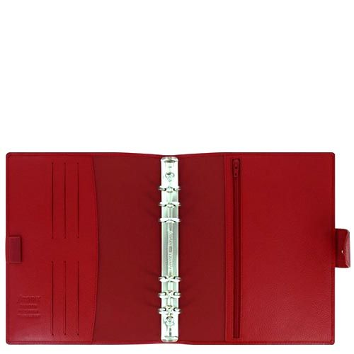 Органайзер Filofax A5 Calipso кожаный красный, фото