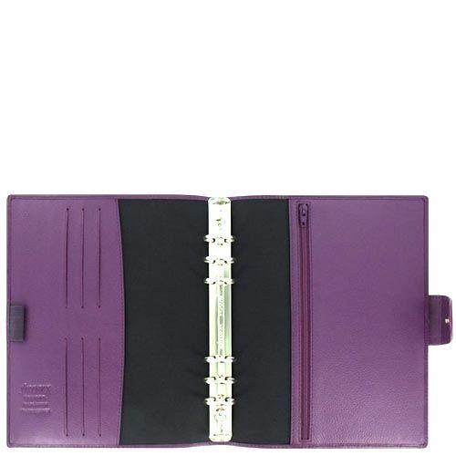 Органайзер Filofax A5 Calipso кожаный пурпурный, фото