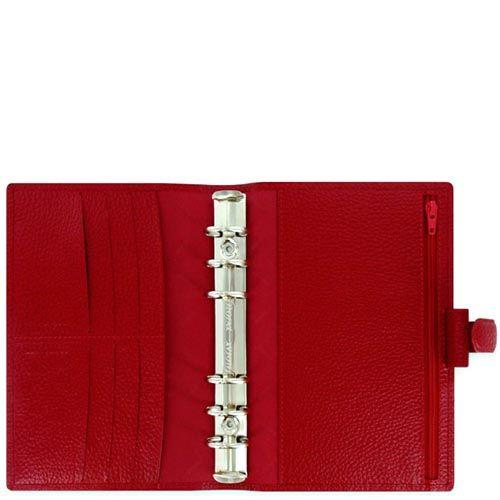 Органайзер Filofax Personal Finsbury красного цвета, фото