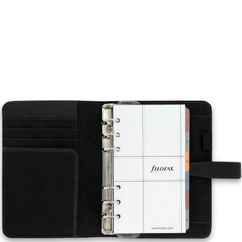 Органайзер Filofax Personal Fusion черный в сочетании микрофибры и кожа, фото