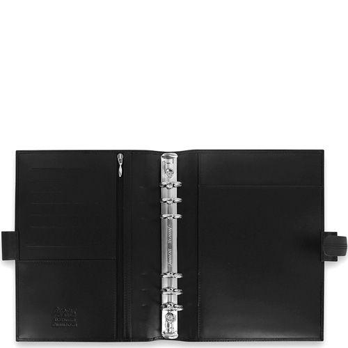 Профессиональный органайзер Filofax А5 Classic кожаный черный, фото