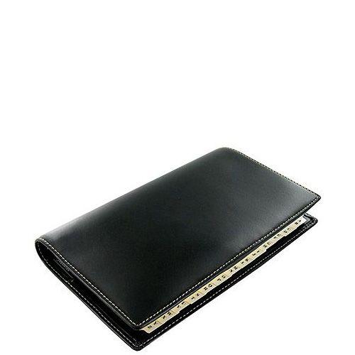 Органайзер Filofax Slimline Cuban кожаный черный, фото