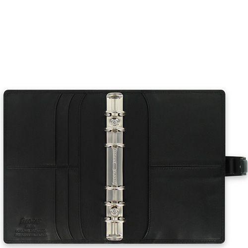Органайзер Filofax Personal Nappa кожаный черный, фото