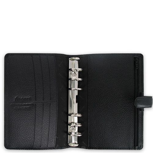 Органайзер Filofax Personal Finsbury кожаный черный, фото