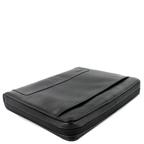 Профессиональный органайзер Filofax A5 Zip Holborn черный с зернистой текстурой и замком, фото