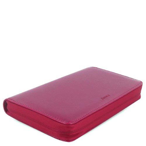 Органайзер Filofax Compact Pennybridge кожаный темно-малиновый, фото
