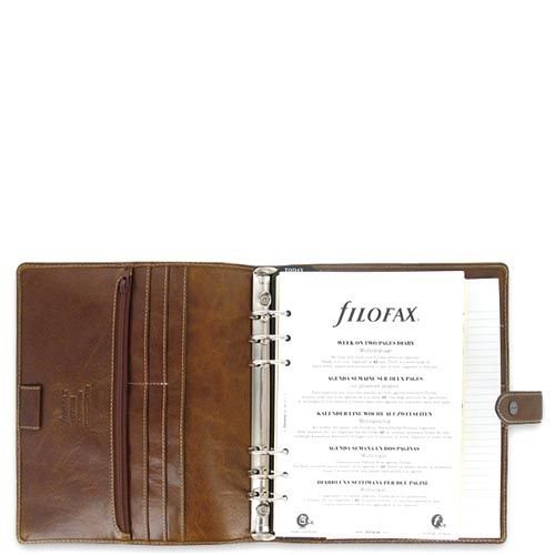 Органайзер Filofax A5 Malden в оттенках коричневого цвета, фото