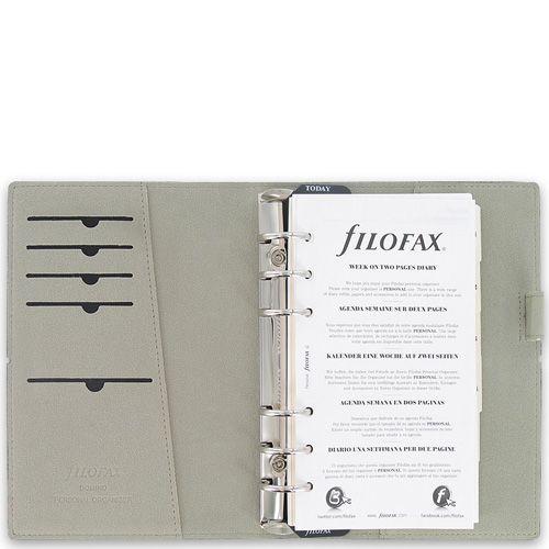 Органайзер Filofax Personal Domino черный на резинке, фото