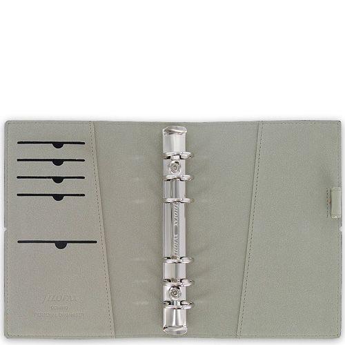 Компактный органайзер Filofax Pocket Domino черный на резинке, фото