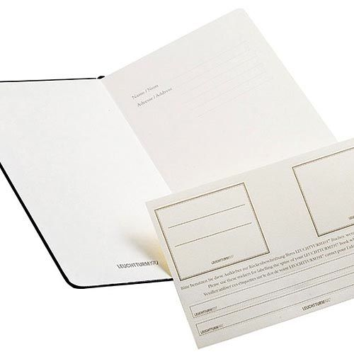 Карманная записная книжка Leuchtturm1917 белого цвета с разметкой точкой, фото