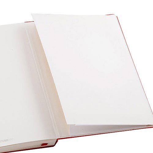 Средняя записная книжка Leuchtturm1917 красного цвета с разметкой точкой, фото