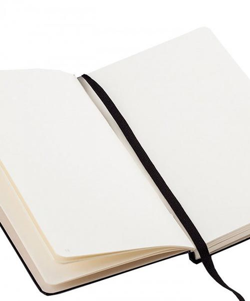 Карманная записная книжка Leuchtturm1917 красного цвета без разметки, фото