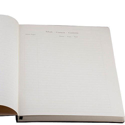 Большая записная книжка Leuchtturm1917 Мастер А-4 Классик черного цвета в линейку, фото