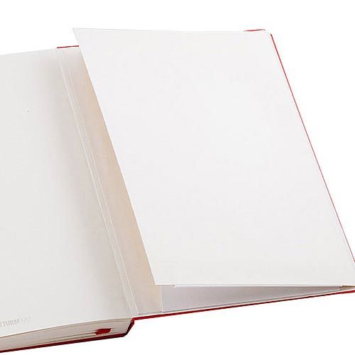 Средняя записная книжка Leuchtturm1917 красного цвета в линейку, фото