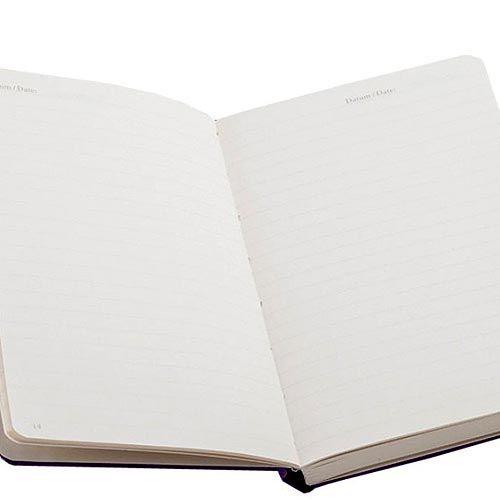 Карманная записная книжка Leuchtturm1917 черного цвета в линейку, фото