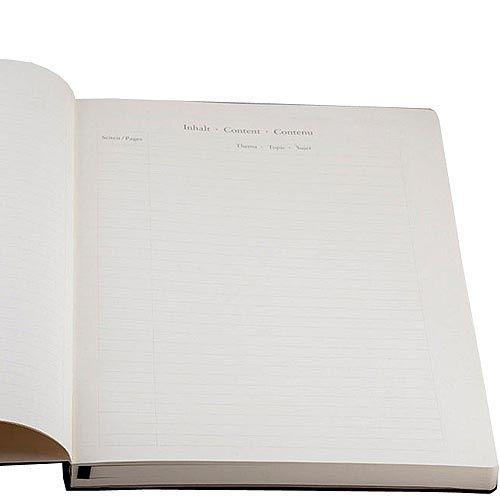 Большая записная книжка Leuchtturm1917 Мастер А-4 Слим черного цвета в линейку, фото
