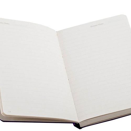 Карманная записная книжка Leuchtturm1917 темно-синего цвета в линейку, фото