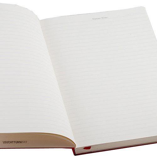 Средняя записная книжка Leuchtturm1917 серого цвета в линейку, фото