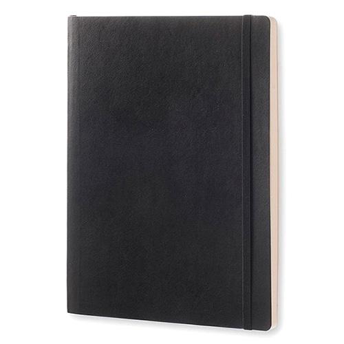 Записная книжка Moleskine Classic в черной мягкой обложке, фото