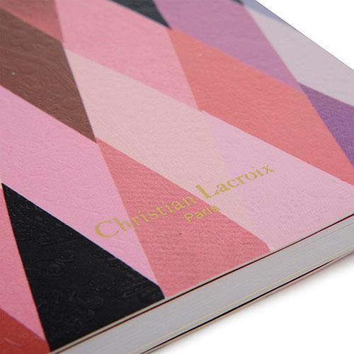 Блокнот Christian Lacroix Mascarade Myrtille Paseo формата А6, фото