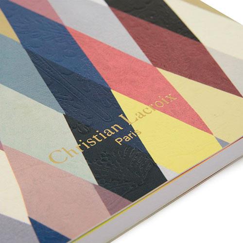 Блокнот Christian Lacroix Mascarade Arlequin Paseo формата А5, фото