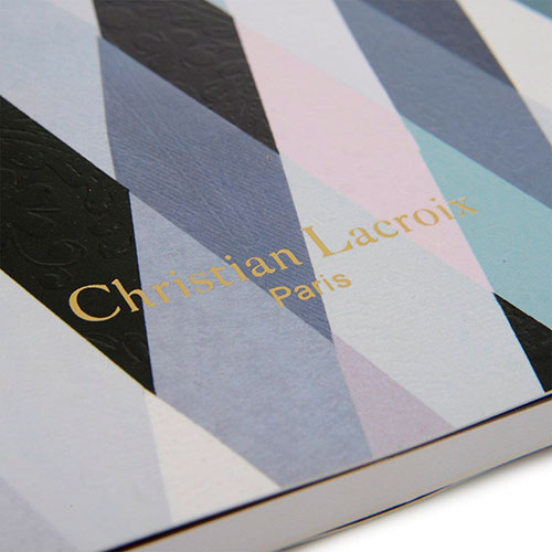 Блокнот Christian Lacroix Mascarade Nuit Paseo формата В5, фото