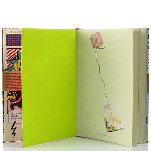 Блокнот Christian Lacroix Papier London формата А5 в полужестком переплете с лентой-закладкой, фото
