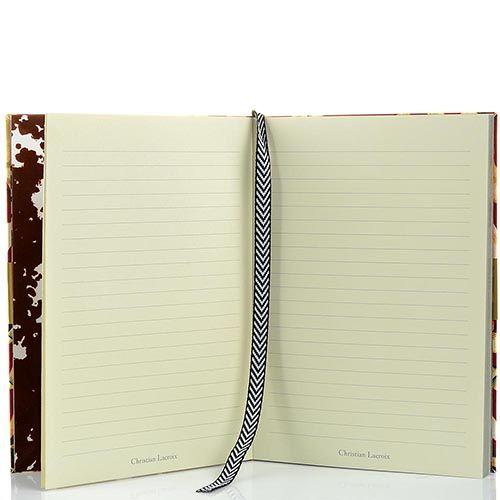 Блокнот Christian Lacroix Papier New York формата А5 в полужестком переплете с лентой-закладкой, фото