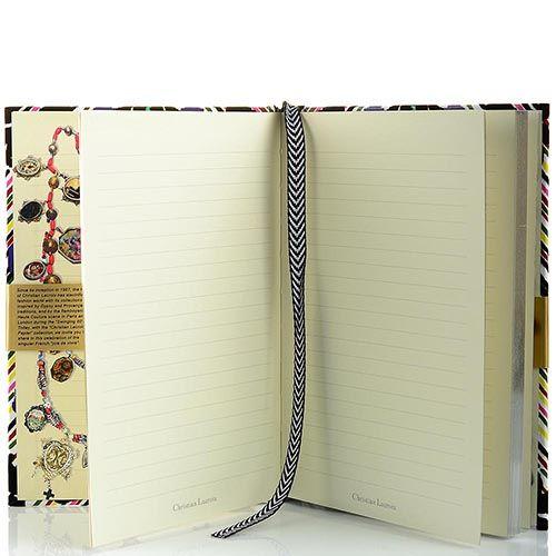 Блокнот Christian Lacroix Papier Cordoba формата А5 в жестком переплете с лентой-закладкой, фото
