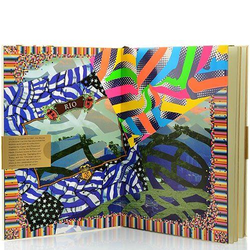 Блокнот Christian Lacroix Papier City Journal RIO А5 с лентой-закладкой, фото