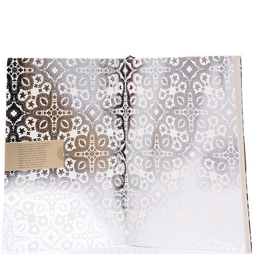 Блокнот Christian Lacroix Papier Paseo B5 серебристого цвета, фото