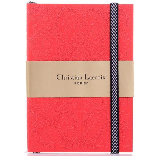 Блокнот Christian Lacroix Papier Paseo Scarlet A6 красный, фото