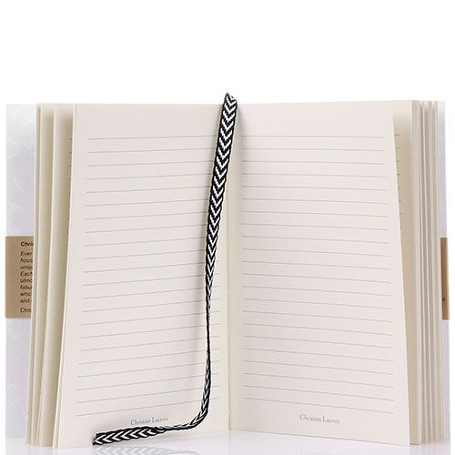 Блокнот Christian Lacroix Papier Paseo Pastis A6 белый, фото