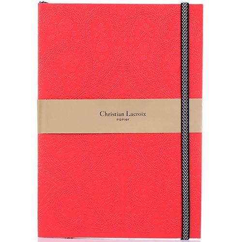 Блокнот Christian Lacroix Papier Paseo Scarlet B5 красный, фото