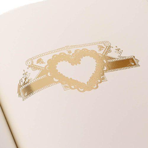 Блокнот Christian Lacroix Papier Paseo Emboss Gold A4, фото