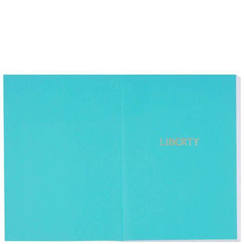 Набор из двух блокнотов Liberty Oscar & Jonathan формата А6, фото