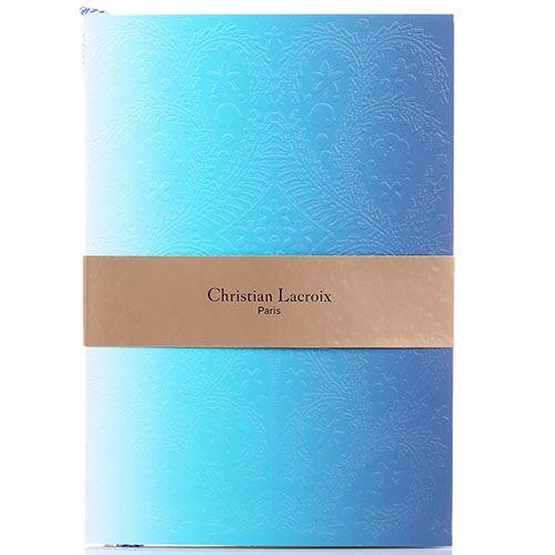Блокнот Christian Lacroix Ombre Paseo Neon A5 голубой, фото