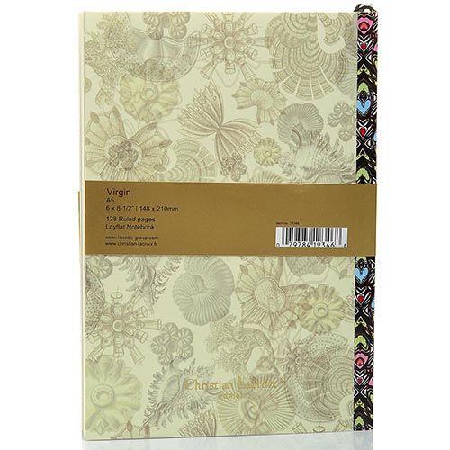 Блокнот Christian Lacroix Papier Virgin формата А5 с лентой-закладкой, фото