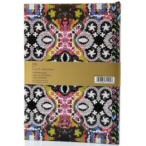 Блокнот Christian Lacroix Papier Arty формата А5 с лентой-закладкой, фото