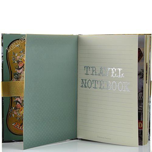 Блокнот Christian Lacroix Papier Voyage формата B5 с лентой-закладкой, фото