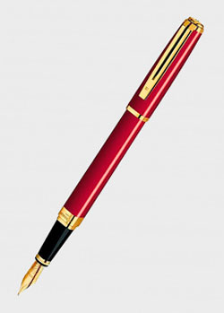 Перьевая ручка Waterman Exception Slim Red GT, фото